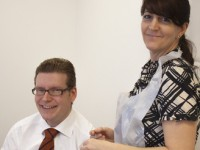 GP leads by example and gets a flu jab