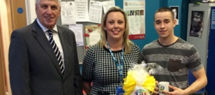 Health staff help to bring festive cheer to young people in need