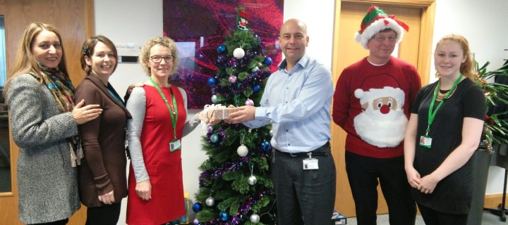 Secret Santa gifts donated to charities in Blackburn with Darwen
