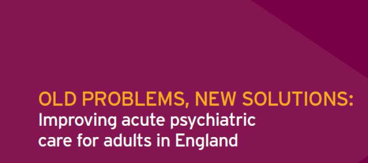 CCG welcomes mental health report
