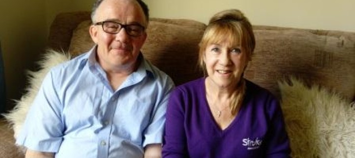 Blackburn man shares his story to raise awareness of stroke