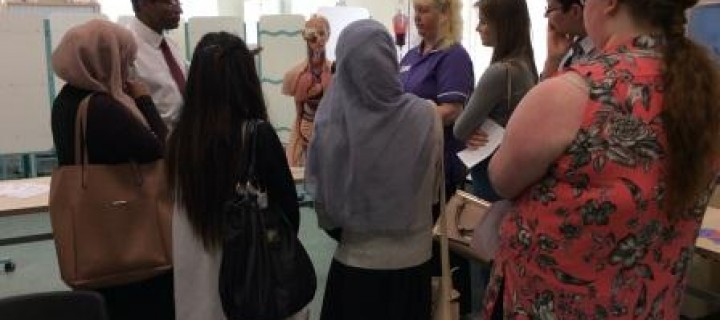 An NHS career is not just being a doctor or nurse, students learn