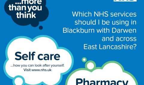 "The <span class=""caps"">NHS</span> in East Lancashire and Blackburn with Darwen is reminding people they can do more than they think to stay well"
