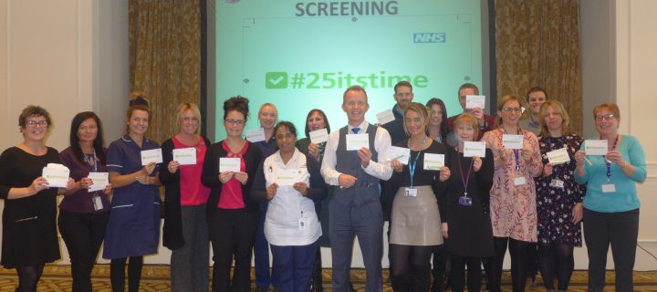 Cancer lead launches campaign to promote cervical screening in 25 year olds