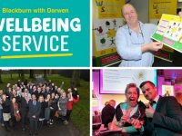 Blackburn with Darwen's award-winning Wellbeing Service has been praised in a national report by a leading health think tank.
