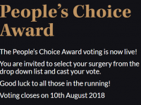 Three GP surgeries across Pennine Lancashire nominated for People's Choice Award: Surgery of the Year