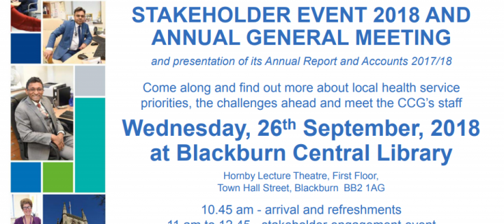 Stakeholder Event & Annual General Meeting 26th September 2018