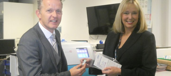 Launch of new test for bowel cancer