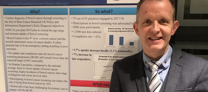 Local bowel cancer project wins top research prize
