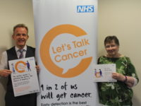 "<span class=""quo"">'</span>Let's Talk Cancer' campaign launched across Pennine Lancashire"