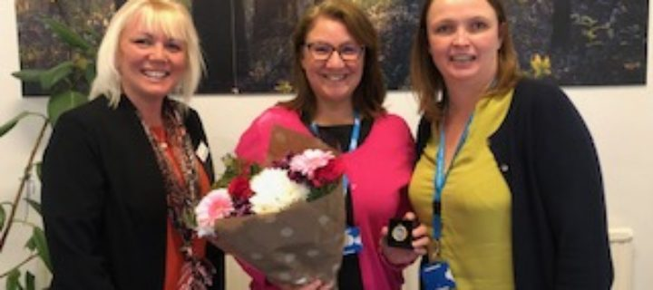 Chief Nursing Officer for England gives top nursing accolade to Pennine Lancashire safeguarding nurse