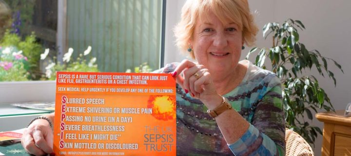 Early recognition is vital for survival says local sepsis survivor and champion