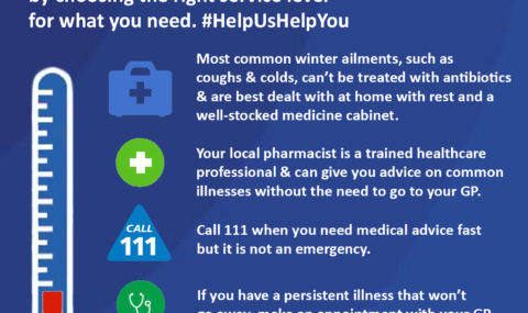 """Let's get prepared and do more this winter by knowing about the range of <span class=""""caps"""">NHS</span> services"""