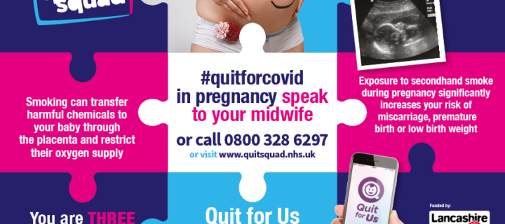 Quit smoking for your baby – support is available