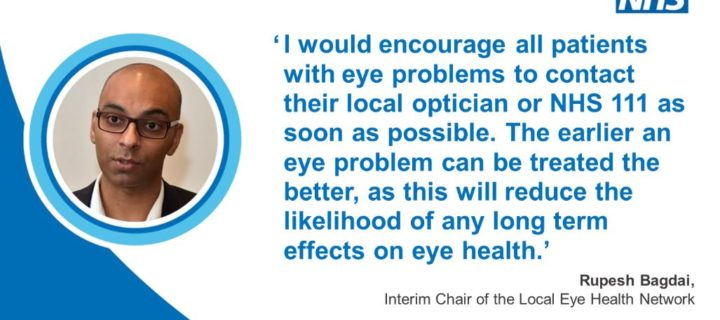 People in Lancashire and South Cumbria urged not to ignore eye problems to avoid long term damage