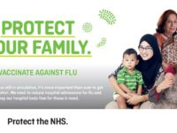 A major drive is launched across Pennine Lancashire to protect the community from flu this winter