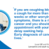 """This Lung Cancer Awareness Month (November 2020), residents are urged not to delay contacting their <span class=""""caps"""">GP</span> about lung cancer symptoms"""