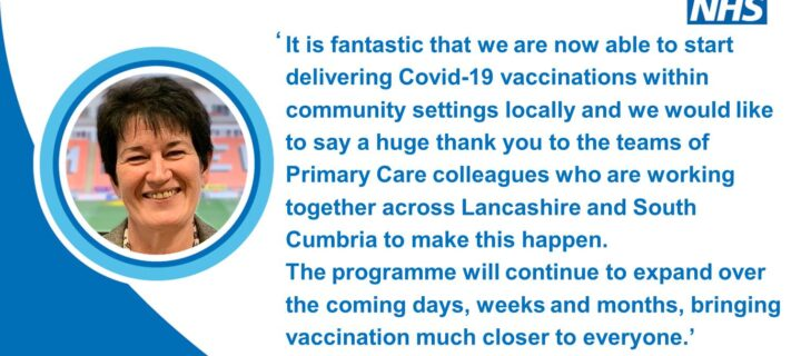 Lancashire and South Cumbria GPs begin offering Covid vaccine as part of biggest NHS immunisation programme