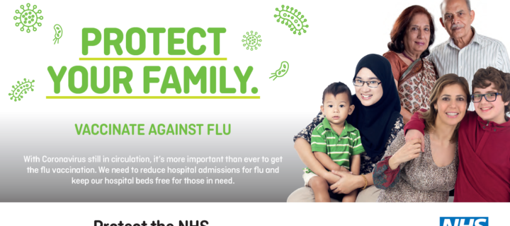 It's not too late to protect yourself and your loved ones from flu this year