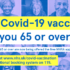 """<span class=""""caps"""">NHS</span> in Lancashire and South Cumbria urges people aged 65 to 69 to book their vaccine thisweek"""