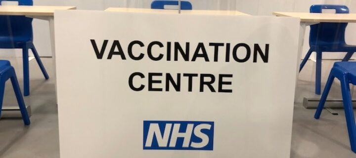 "Hundreds invited to new <span class=""caps"">NHS</span> vaccination centre in Burnley"