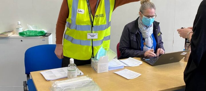 Army of volunteers praised for their support during the vaccination roll out