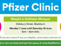 New Pop-up Covid-19 vaccination clinic coming back to Blackburn