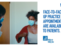 GP practices are open and providing services