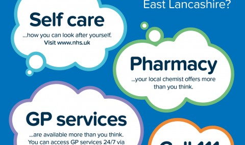 """Campaign launched by the <span class=""""caps"""">NHS</span> in East Lancashire and Blackburn with Darwen reminds people they can do 'more than you think' to stay well this winter"""